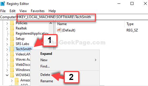 Registry Editor Navigate To Path Find Program Right Click Delete