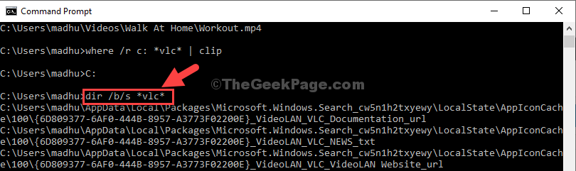 Run Directory Command With Desired File Name Enter