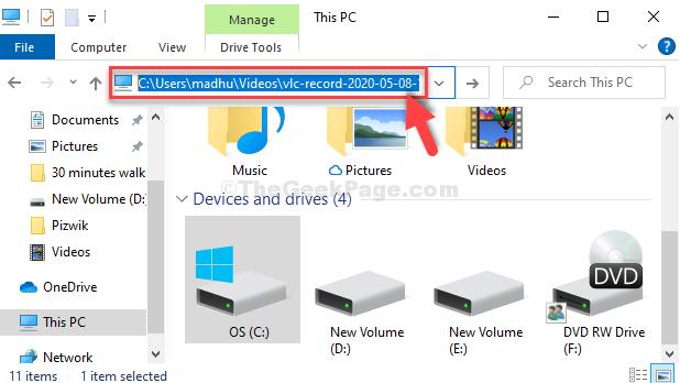 Win + E File Explorer Paste Copied File In The Address Bar Enter