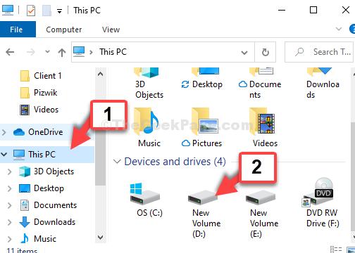 Win + E File Explorer This Pc Shortcut D Drive