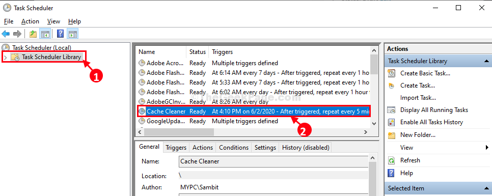 Cache Cleaner See