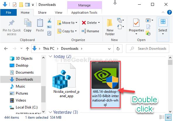 Double Click Installer