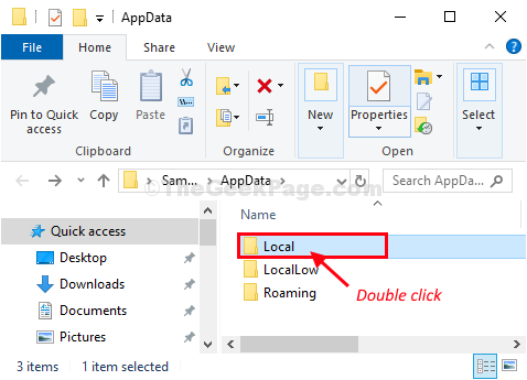 Local Double Click