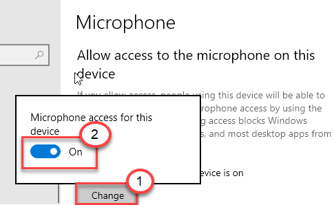Microphone On Change Min Min