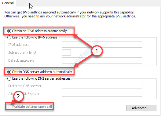 Obtain Ip Addresses Auto Ipv6