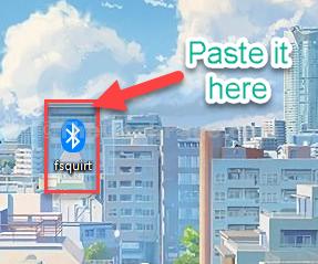 Paste It Here