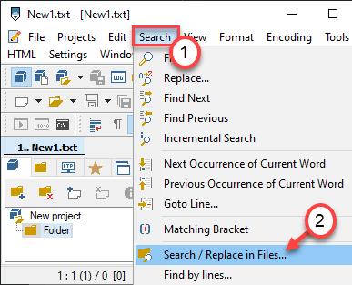 Search Files Min