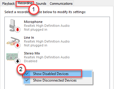Show Disabled Device Min
