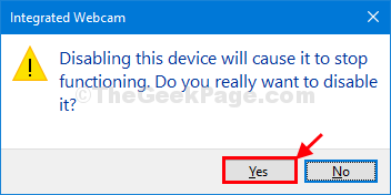 Yes Disable