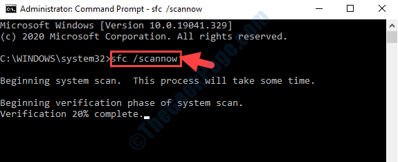 Command Prompt Run Sfc Scannow Command Enter