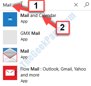 Microsoft Store Search Mail Mail And Calendar