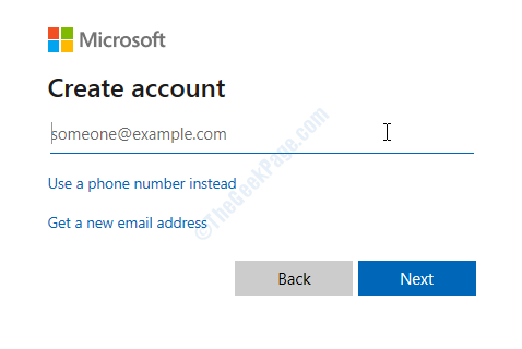 Tools Accounts Add Account Email Address Password
