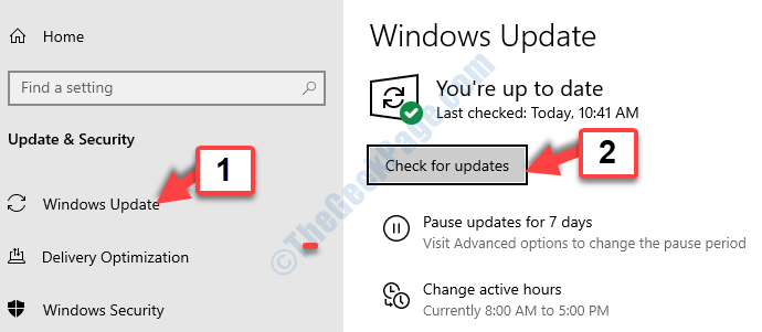 Windows Update Check For Update
