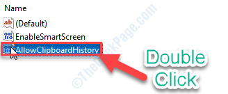 Allowcliphistory Dc
