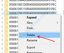 Delete Registry Key Program
