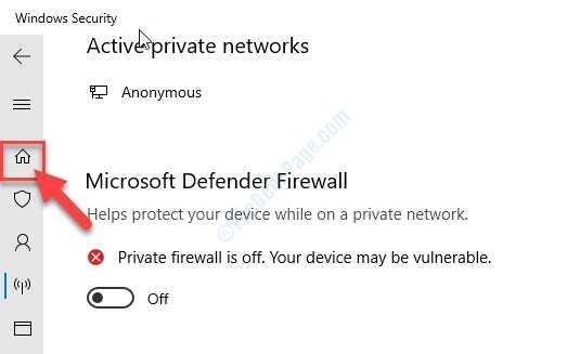 Home Windows Security
