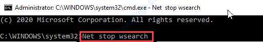 Net Stop Search