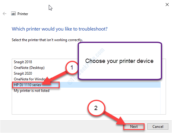 New Hp Select Printer Troubleshooting