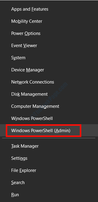 Powershell Menu