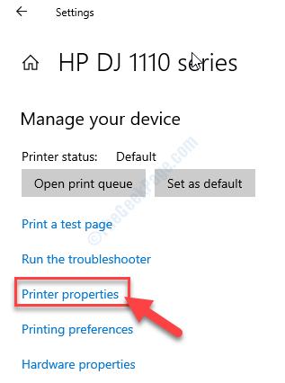 Printer Props