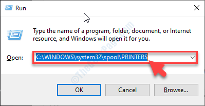 Printer Spooler Location Run