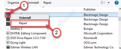 Repair New Control Panel Universal