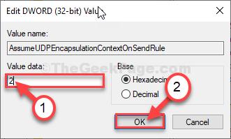 Set Value Data 2