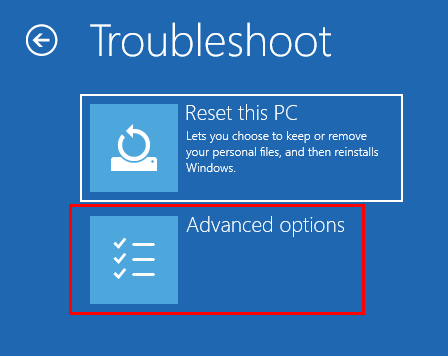 Troubleshoot Advanced