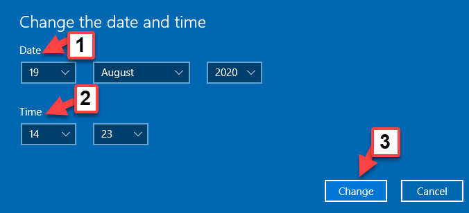 Change The Date And Time Prompt Date Time Change