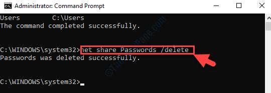 Command Prompt Admin Mode Run Command To Delete Folder Enter