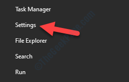 Desktop Start Right Click Menu Settings