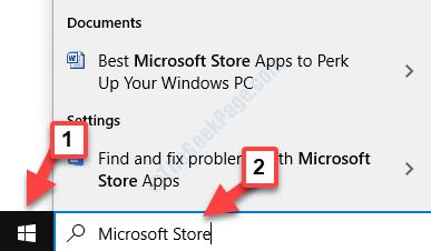 Desktop Start Search Microsoft Store