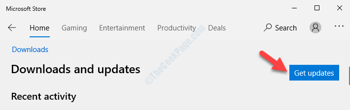 Downloads And Updates Get Updates