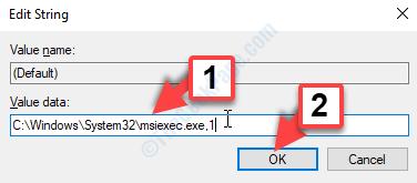Edit String Value Data 0 To 1 Ok