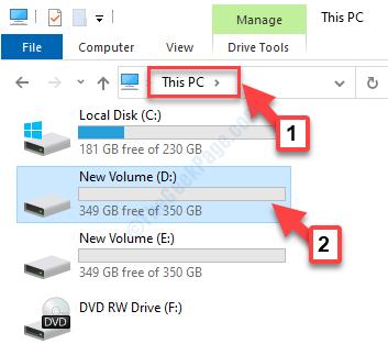 File Explorer This Pc D Drive