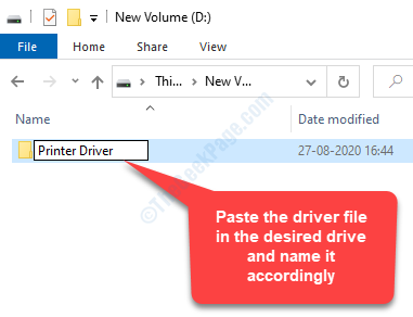 Go To The Desired Driver Paste The Driver File Name It