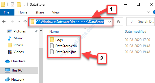 Navigate To The Path Datastore Delete All Files