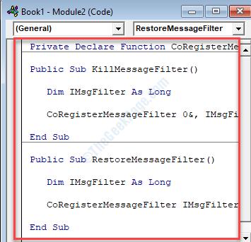 New Module Copy & Paste Vba Code