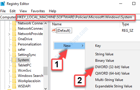 Registry Editor Address Bar Paste The Path Right Side Right Click New Dword (32 Bit) Value