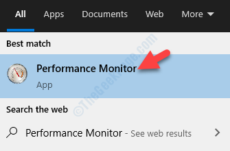 Result Left Click Performance Monitor