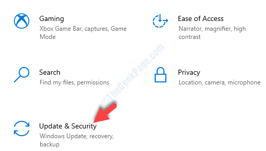 Settings Update & Security