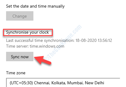 Synchronize Your Clock Sync Now