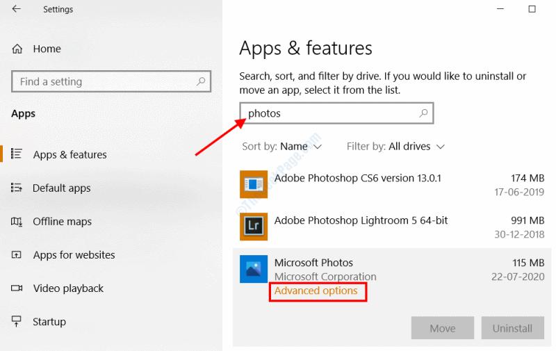 Apps Photos Adv