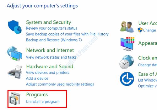 Cp Programs