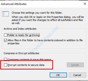 Decrypt Folder