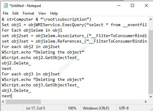 Notepad Vbs Script