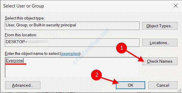 User Access File
