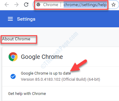 About Chrome Automatically Updates