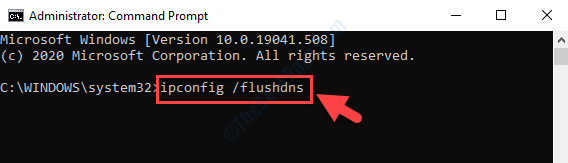 Command Prompt Admin Flush Dns Command Enter