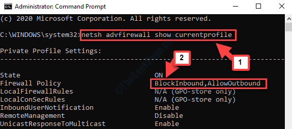 Command Prompt Admin Run Command To Check If Default Policy Enabled